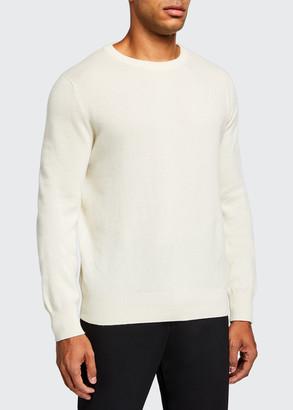The Row Men's Benji Crewneck Cashmere Sweater