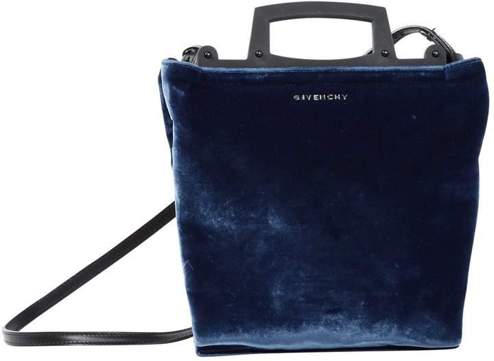 Givenchy Blue Velvet Handbag