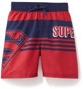 Old Navy DC Comics Superman Swim Trunks for Toddler Boys