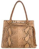 Valentino Python Shoulder Bag