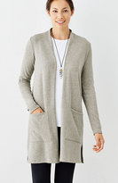 J. Jill Pure Jill Long Knit Jacket