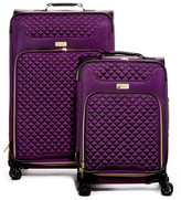 Kensie 2-Piece Expandable Quilted Luggage