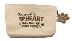 Lillian Rose Dog Travel Kit - Road to My Heart Is Paved with Paw Prints