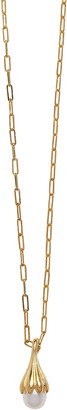 Pamela Love Anemone Pearl 14K Gold-Plated Pendant