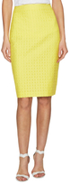 Ava & Aiden Jacquard Pencil Skirt