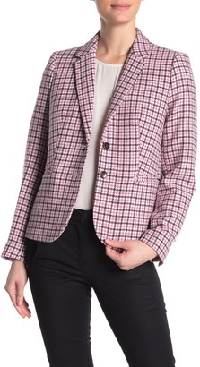 J.Crew Rack Houndstooth Wool Blend Blazer