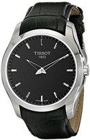 Tissot Men's T0354461605100 Analog Display Swiss Quartz Black Watch