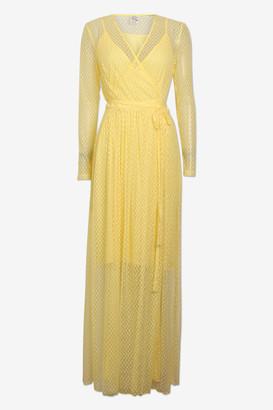 Baum und Pferdgarten Wax Yellow Cotton Anneline Dress - 34 | wax yellow | cotton