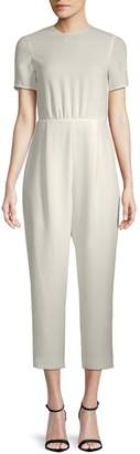 Max Mara Foce Short-Sleeve Jumpsuit