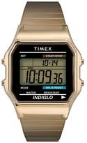 Timex Men's Stainless Steel Expandable Strap Digital Watch