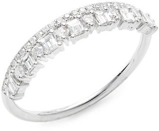 Saks Fifth Avenue 14K White Gold Diamond Band