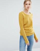 Vila Crew Neck Long Sleeve Sweater