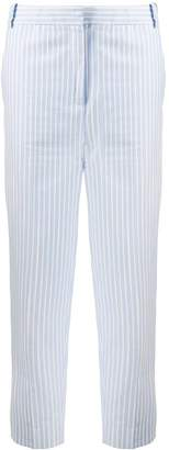 Victoria Victoria Beckham striped cropped trousers