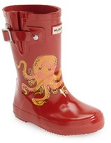 Hunter 'Original - Octopus' Rain Boot (Toddler)