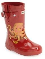 Hunter Toddler 'Original - Octopus' Rain Boot