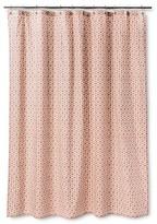 Threshold Shower Curtain - Pinwheel Coral