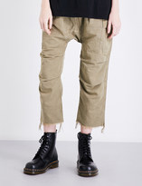 R 13 Cargo cotton-twill trousers