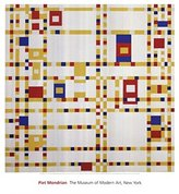 3.1 Phillip Lim The Poster Corp Broadway Boogie Woogie Poster Print by Piet Mondrian