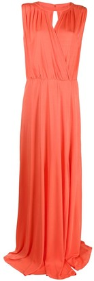 Twin-Set Belted Waist Gown