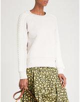 Burberry Selho Cotton-blend Sweatshirt
