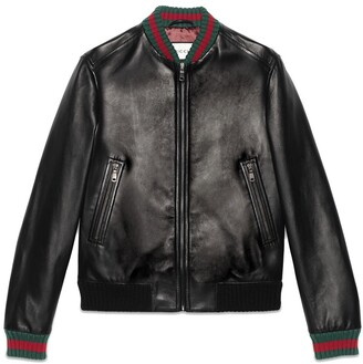 Gucci jacket with Web