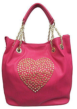 Betsey Johnson Heart Attack Tote