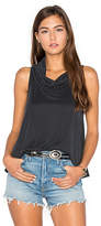 Nation Ltd. Asher Crop Tank in Charcoal. - size L (also in )