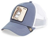 Men's Goorin Brothers 'Nutty' Trucker Hat - Blue