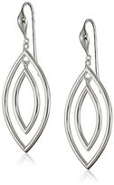 Marquis Zina Sterling Silver Marquise Drop Earrings, 2""