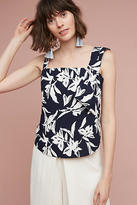 J.o.a. Tropical Asymmetry Blouse
