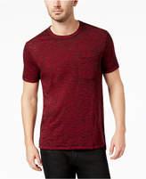 GUESS Men's Myer Slub Burnout Cotton T-Shirt