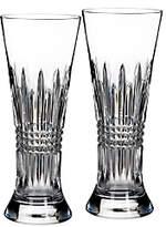 Waterford Lismore Diamond Pilsner Glass, Set of 2