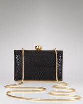 Sondra Roberts Hard Body Mesh Clutch