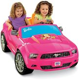 Fisher-Price Power Wheels Barbie Ride-On Ford Mustang by