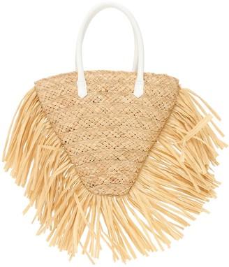 Il Gufo Straw Handbag
