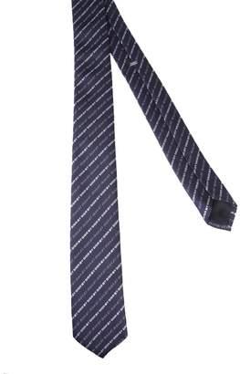 Christian Dior All Over Logo Tie