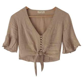 Urban Outfitters Beige Top for Women