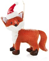 Bloomingdale's Santa Fox Ornament - 100% Exclusive