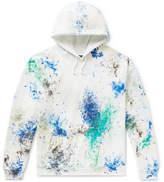 Sasquatchfabrix. Paint-Splattered Fleece-Back Cotton-Blend Jersey Sweatshirt