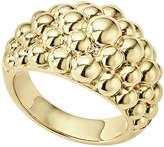 Lagos 18K Gold Caviar Bold Ring, Size 7