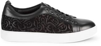 Robert Graham Curtiz Leather Sneakers