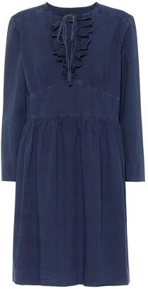 A.P.C. Poppy cotton chambray dress