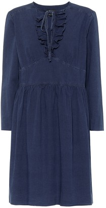 A.P.C. Poppy cotton chambray dress