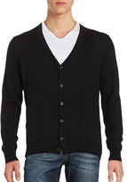 Black Brown 1826 Merino Wool Cardigan