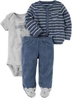 "Carter's Baby Boy Super Handsome"" Graphic Bodysuit"