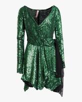 Thumbnail for your product : Maria Lucia Hohan Gallia Sequin Mini Dress
