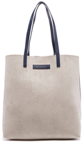 WANT Les Essentiels Women's Logan Vertical Tote Bag Multi/Pebble/True Blue