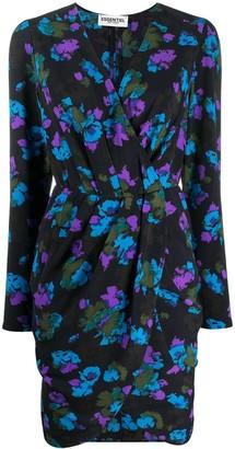 Essentiel Antwerp Floral Wrap Dress