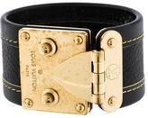 Louis Vuitton Suhali S Lock Bracelet