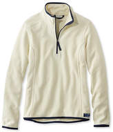 L.L. Bean Soft-Brushed Fitness Fleece Pullover, Quarter-Zip